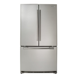Samsung 29-cu ft French Door Refrigerator with Single Ice Maker (Stainless Steel) ENERGY STAR RFG293HARS