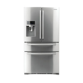 Samsung 28-cu 4-Door French Door Refrigerator with Single Ice Maker (Stainless Steel) ENERGY STAR