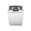 Samsung 49-Decibel Built-In Dishwasher with Hard Food Disposer and Stainless Steel Tub (White) (Common: 24-in; Actual: 23.9-in) ENERGY STAR