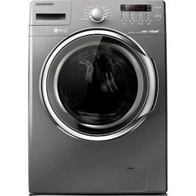 Samsung 3.7-cu ft High-Efficiency Stackable Front-Load Washer with Steam Cycle (Platinum) ENERGY STAR
