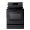 Samsung Smooth Surface Freestanding 5-Element 5.9-cu ft Self-Cleaning Convection Electric Range (Black) (Common: 30-in; Actual: 29.90-in)