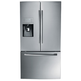 Samsung 30.5-cu ft French Door Refrigerator with Dual Ice Maker (Stainless Steel)