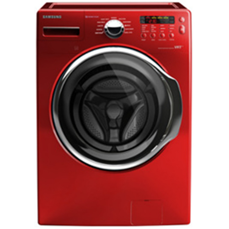 Washing Red Samsung ~ Shop samsung cu ft high efficiency front load washer