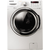 Samsung 3.7-cu ft High-Efficiency Stackable Front-Load Washer with Steam Cycle (White) ENERGY STAR