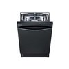 Samsung 51-Decibel Built-In Dishwasher with Hard Food Disposer and Stainless Steel Tub (Black) (Common: 24-in; Actual: 23.9-in) ENERGY STAR