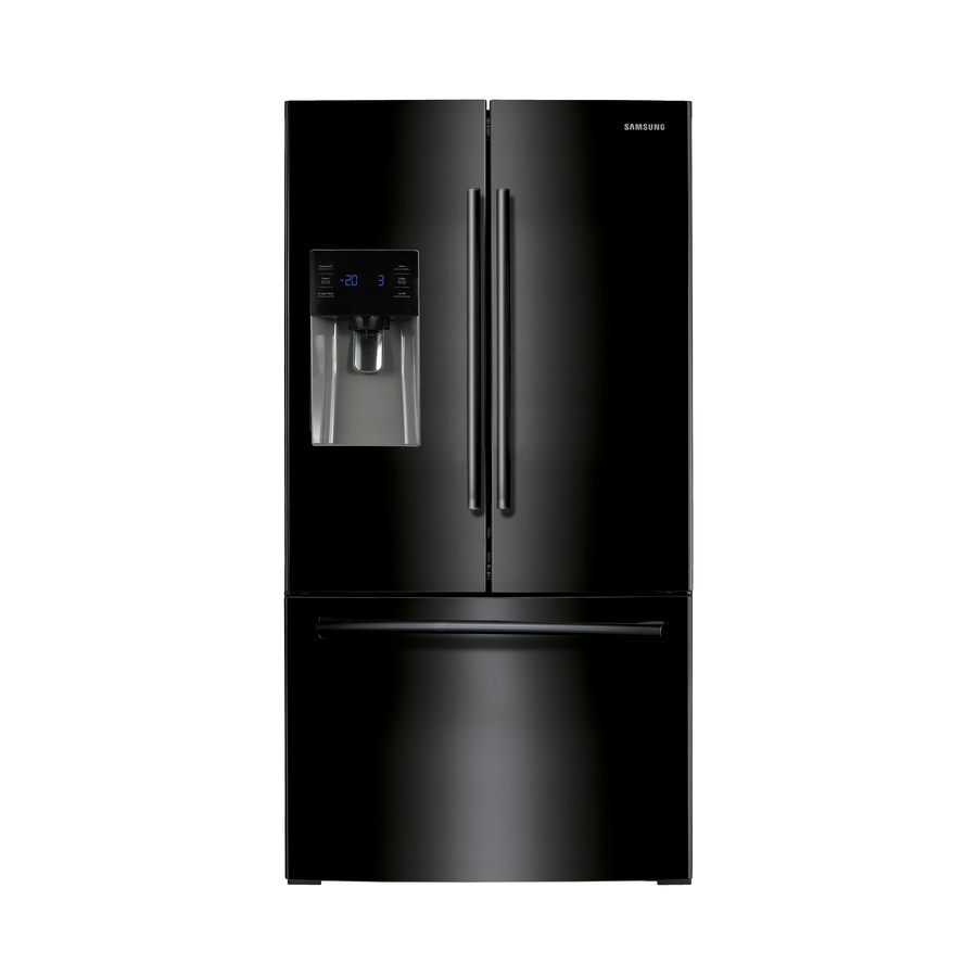 Kitchen Appliances At Lowes: Shop Samsung 25.6-cu Ft French Door Refrigerator With Dual