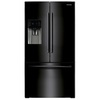 Samsung 24.6-cu ft French Door Refrigerator with Single Ice Maker (Black) ENERGY STAR