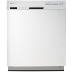 Samsung 24-in 50-Decibel Built-in Dishwasher with Hard Food Disposer Stainless Steel (White) ENERGY STAR
