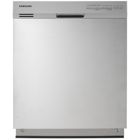 Samsung 50-Decibel Built-In Dishwasher with Hard Food Disposer (Stainless Steel) (Common: 24-in; Actual 23.875-in) ENERGY STAR