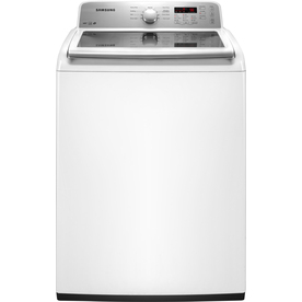 Samsung 4.2-cu ft High-Efficiency Top-Load Washer (White) ENERGY STAR