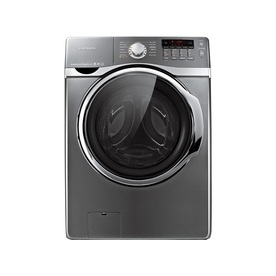 Samsung 4-cu ft High-Efficiency Stackable Front-Load Washer with Steam Cycle (Platinum) ENERGY STAR