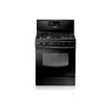 Samsung 5-Burner Freestanding 5.8-cu Self-Cleaning Convection Gas Range (Black) (Common: 30; Actual: 29.81-in)