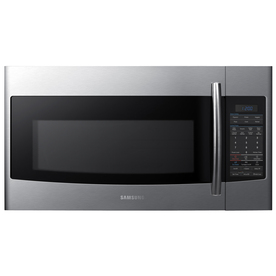 Samsung 1.9-cu ft Over-The-Range Microwave with Sensor Cooking Controls (Stainless Steel) (Common: 30-in; Actual: 29.87-in)