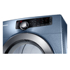 Samsung 7.3-cu ft Stackable Electric Dryer (Blue)