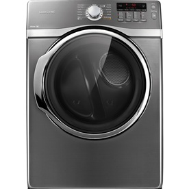 Samsung 7.4-cu ft Stackable Gas Dryer with Steam Cycles (Platinum)