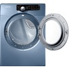 Samsung 7.3-cu ft Stackable Gas Dryer (Blue)