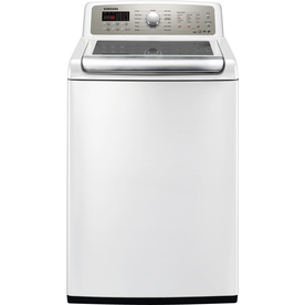 Samsung 4.7-cu ft High-Efficiency Top-Load Washer (White) ENERGY STAR