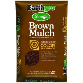 Earthgro 2-cu ft Dark Brown Hardwood Mulch