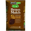 Earthgro 2 cu ft Brown Hardwood Mulch