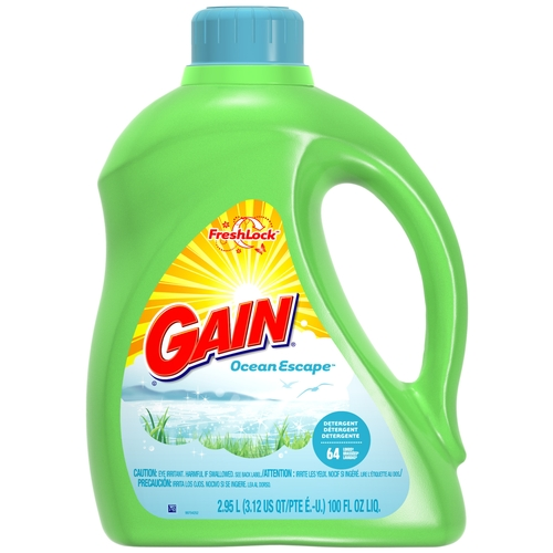 Gain Liquid Detergent With Freshlock