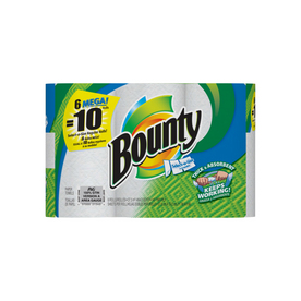 Bounty 6-Pack 147-Count Mega Roll Select A Size Paper Towels