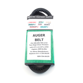 Troy-Bilt Auger Belt for Two-Stage Snow Blower