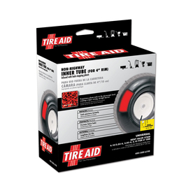 "Tire Aid 4.10/3.50 x 4"" Utility Inner Tube with Sealant"
