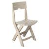 Adams Mfg Corp Desert Clay Slat Seat Resin Patio Dining Chair