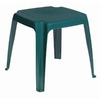 Adams Mfg Corp 16-in W x 16-in L Square Resin End Table