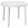 Adams Mfg Corp Amesbury 38-in x 38-in Resin Round Patio Dining Table