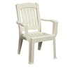 Adams Mfg Corp Resin Stackable Patio Dining Chair