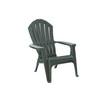 Adams Mfg Corp Hunter Green Resin Stackable Patio Adirondack Chair