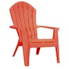 Adams Mfg Corp Coral Resin Stackable Adirondack Chair