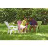 Adams Mfg Corp Green Resin Stackable Patio Adirondack Chair