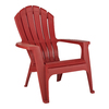 Adams Mfg Corp Red Resin Adirondack Chair