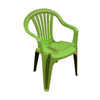 Adams Mfg Corp Green Resin Stackable Patio Dining Chair