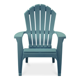 Display Product Reviews For 1 Count Teal Resin Stackable Patio Adirondack  Chair With