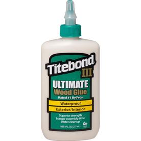 Titebond Brown Interior/Exterior Wood Adhesive (Actual Net Contents: 8 Fluid Oz.)