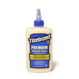 Titebond Yellow Interior/Exterior Wood Adhesive (Actual Net Contents: 8 Fluid Oz.)