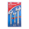 Crescent 3-Piece Standard Polished Chrome Standard (SAE) Wrench Set
