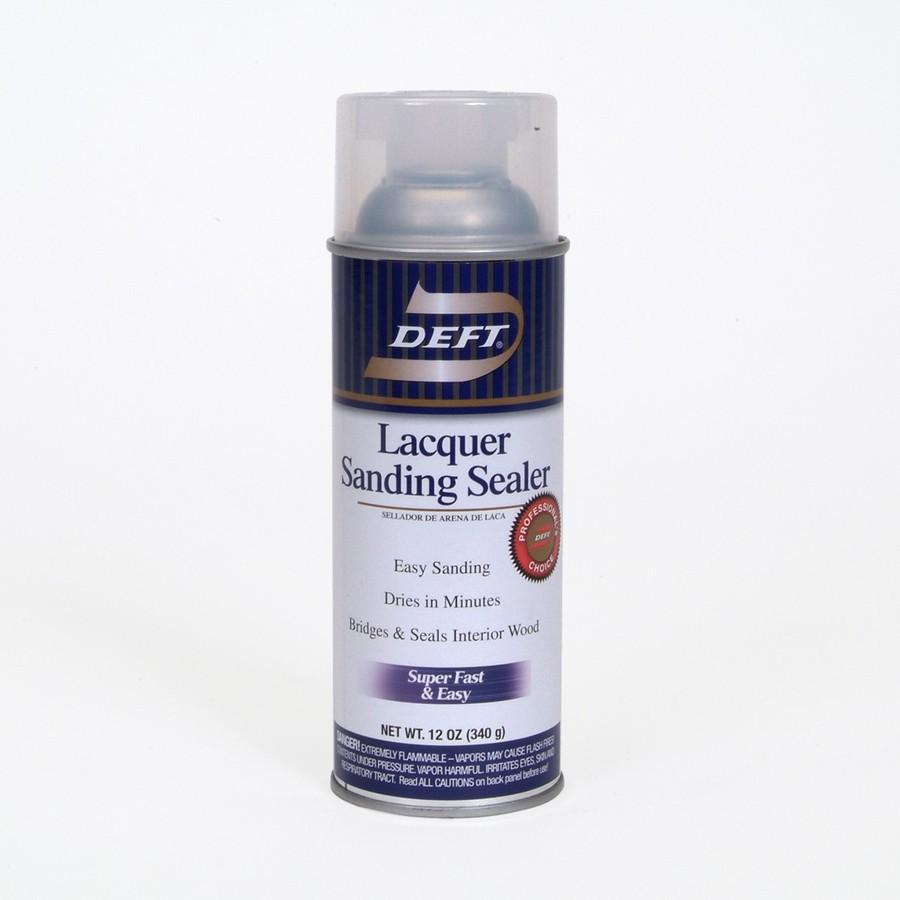 shop deft 12 oz lacquer sanding sealer aerosol at. Black Bedroom Furniture Sets. Home Design Ideas
