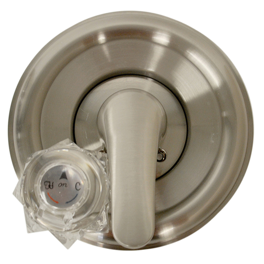 shop danco nickel tub shower trim kit at