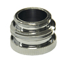 Danco 55/64-in x 27 Thread / 3/4-in GHTM x 55/64-in x 27 Thread Chrome Standard Adapter