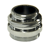 Danco 15/16-in-27M / 55/64-in-27F x 3/4-in GHTM / 55/64-in-27M Chrome Standard Adapter