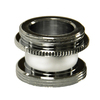 Danco 15/16-in x 27 Thread x 55/64-in 27 Thread Chrome Standard Adapter