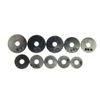 Danco 100-Pack Assorted Sizes Rubber Flat Washer