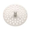 Danco 1/4-in dia White Fixed Post Sink Strainer and Disposal Flange Combo