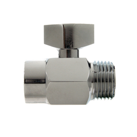Danco Chrome Quarter-Turn Straight Valve
