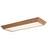 Portfolio 54-3/8-in Flush Mount Fluorescent Light ENERGY STAR