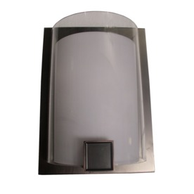 allen + roth 9-7/8-in W Nolan 1-Light Bronze Pocket Wall Sconce